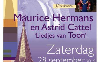 Maurice Hermans & Astrid Cattel – 'Liedjes van Toon'