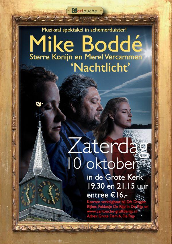Mike Boddé, Sterre Konijn en Merel Vercammen Nachtlicht: muzikaal spektakel in het schemerduister